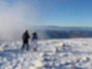 Ben Nevis guided walk at New Year