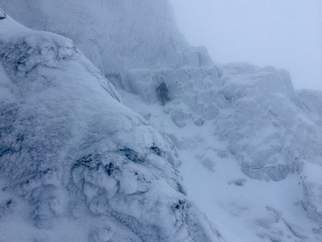 Number 3 gully buttress, Ben Nevis
