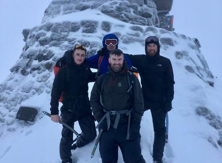 Ben Nevis mountaineering skills