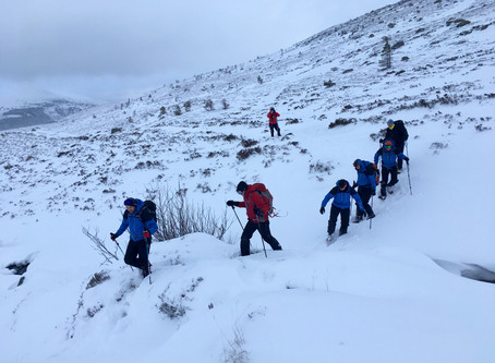 Winter skills, Cairngorms