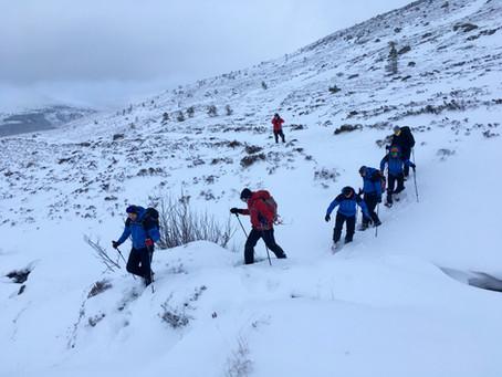 Winter skills, Cairngorms