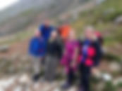 People on Ben Nevis