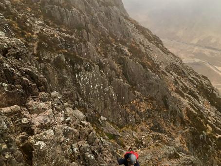 Curved Ridge, Glen Coe