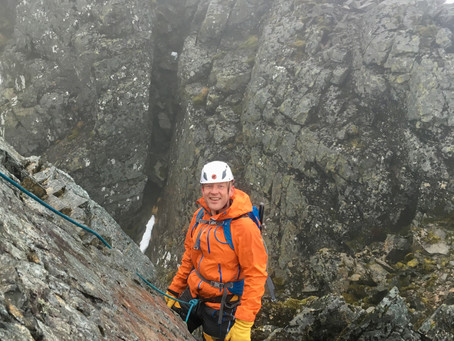 LedgeRoute and No. 4 gully, Ben Nevis