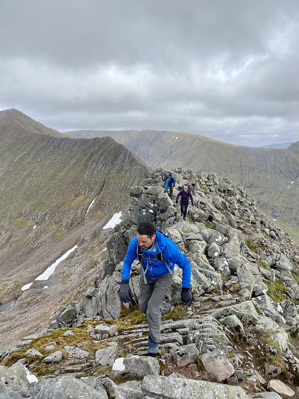 Guided walk along the CMD arete to Ben Nevis