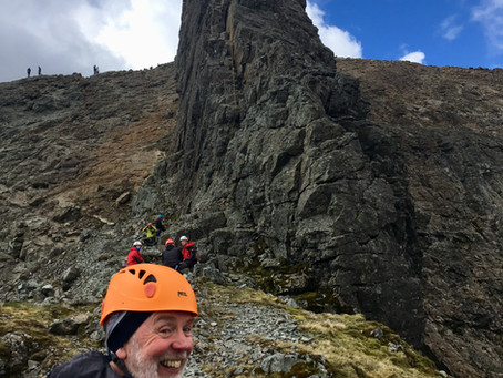 In Pinn and Sgurr MhicChoinnich, Skye