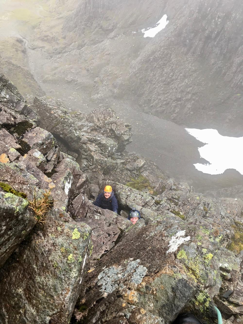Tower Ridge on Ben Nevid