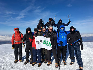 Ben Nevis summit for charity