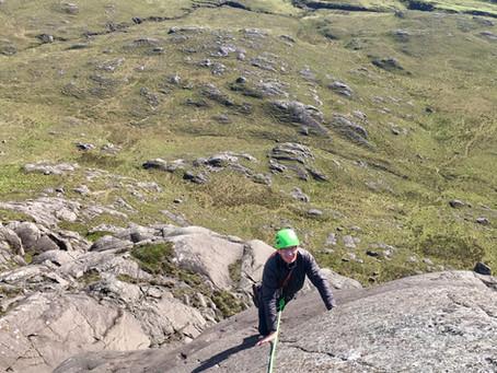 Ardnamurchan climbing