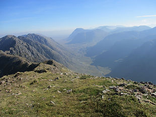 Guided walks Glencoe mountains