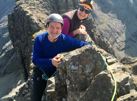 Hot on the Inaccessible Pinnacle, Skye