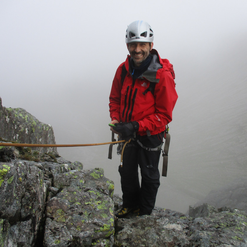 North face of Ben Nevis survey