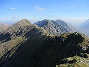 View of Glen Coe mountains