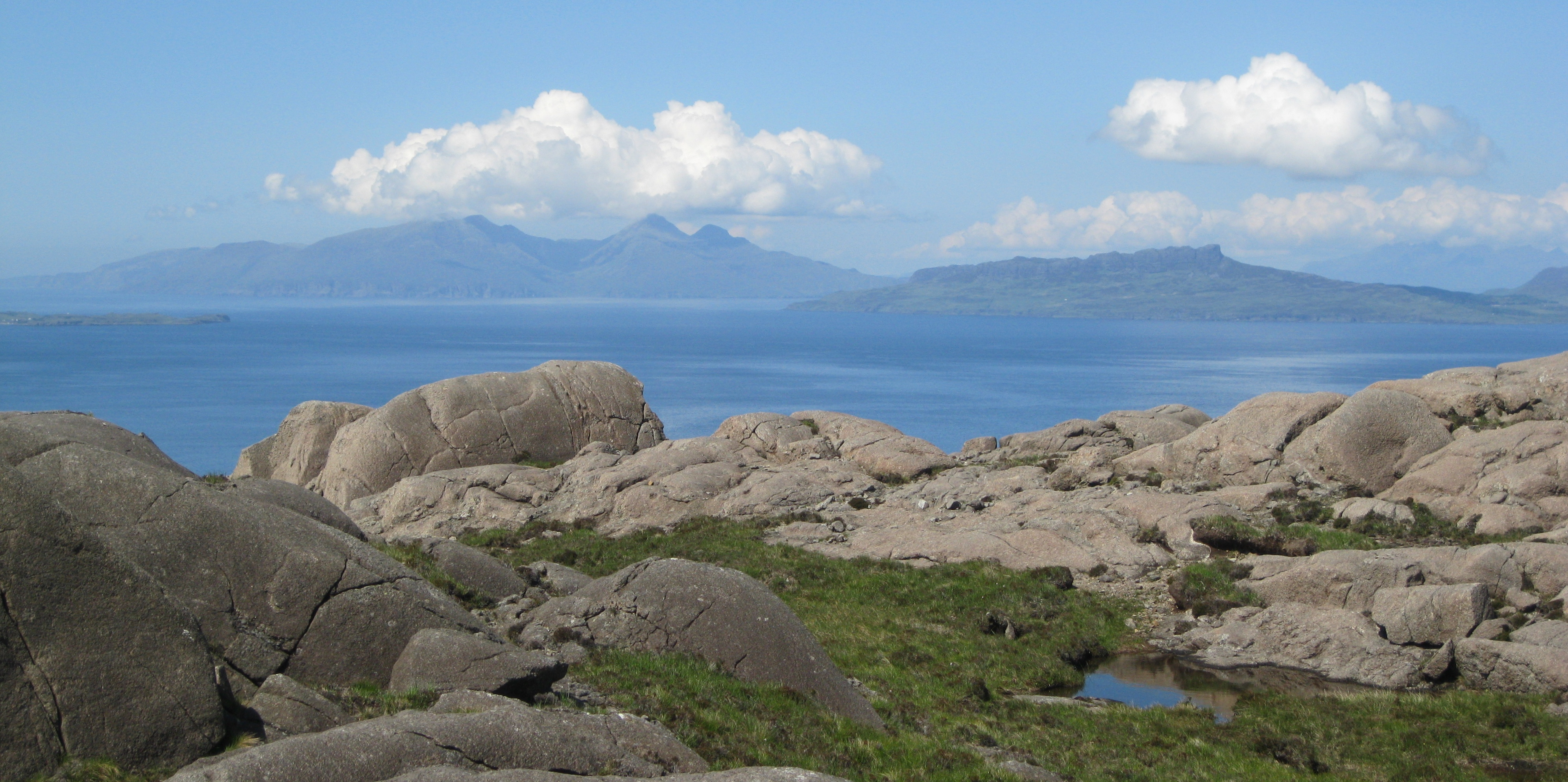 Rum and Eigg from Ardnamurchain