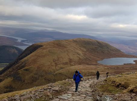 Ben Nevis, Mountain path