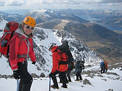 Winter skills Glen Coe