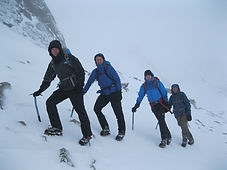 Guided winter walks on Ben Nevis