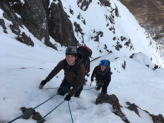 Scottish Winter Climbing