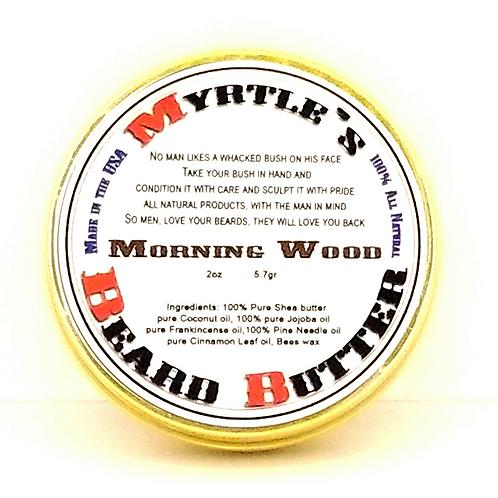 100% Natural Morning Wood Beard Butter