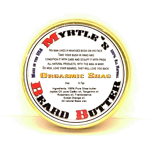 100% Natural Orgasmic Shag Beard Butter