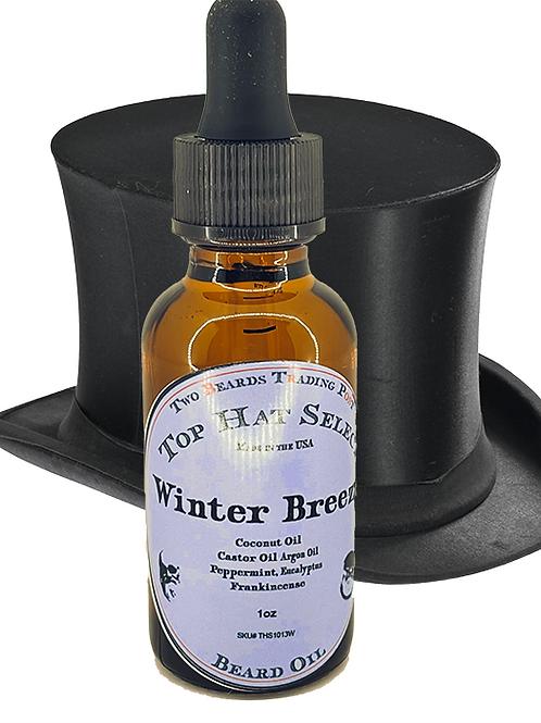 100% Natural Beard Oil - Top Hat Select Winter Breeze Beard Oil