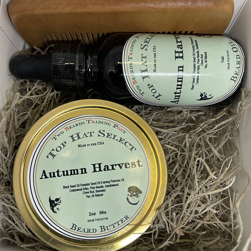Top Hat Select Autumn Harvest Beard Butter and Oil