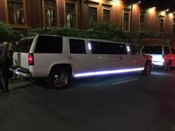 Chegada da limousine