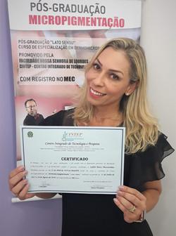 Aluna com Certificado