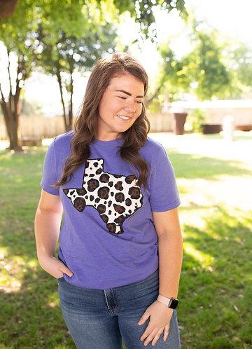 Purple Leopard Texas