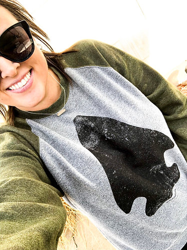 Vintage Arrowhead Camo Sweatshirt