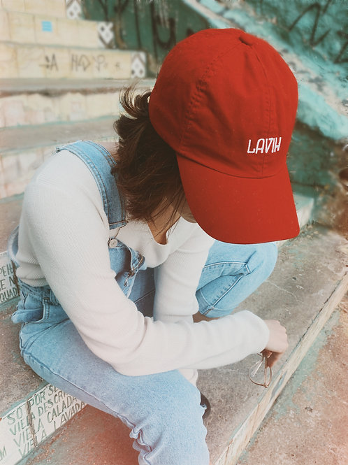 Red Dad Hat - Lavih