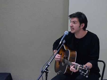 Andy Piermarini, músico cantautor cordobés, musicalizó el Programa IgualDar