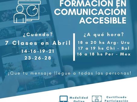 Formación en Comunicación Accesible