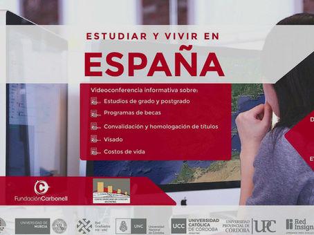"""¡Así fue la 2° edición de las Jornadas """"Estudiar y Vivir en España""""!"""