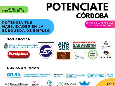 """Colaboramos en la """"Jornada Potenciate Córdoba"""""""