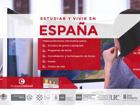 """Nueva edición de las Jornadas """"Estudiar y vivir en España"""""""