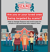 MANAGING FINANCES AND AVOIDING SCAMS