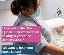 Share your experience of care at the Queen Elizabeth Hospital