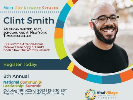 2021 National Community Leadership Summit Keynote Speaker