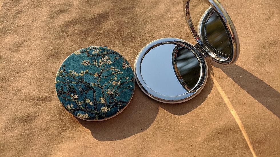 Mirror Compact   Van Gogh • Almond Blossoms