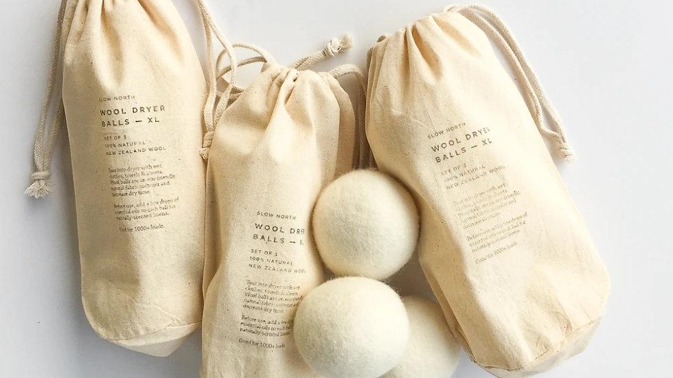 Wool Dryer Balls (set of 3)