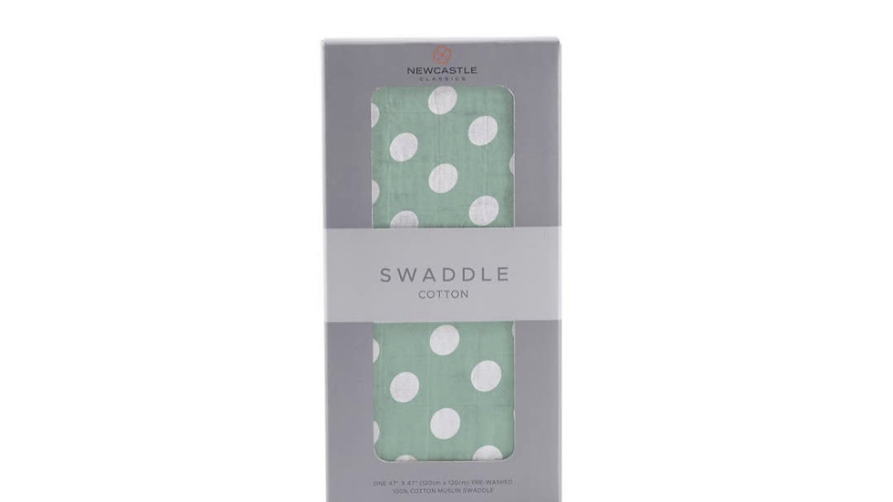 Baby Swaddle   Natural Cotton Muslin
