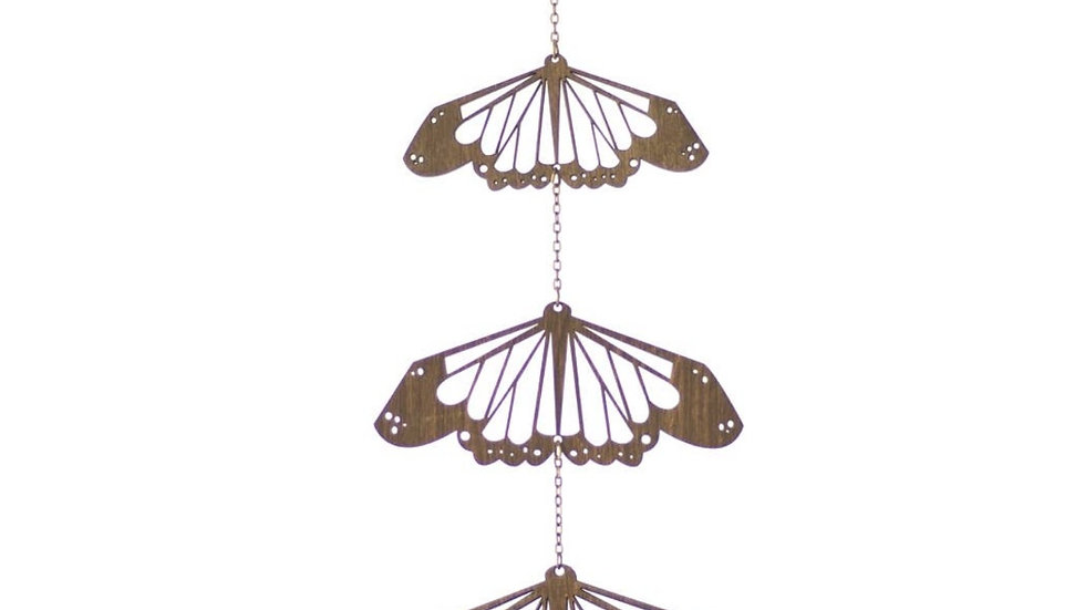 Laser Cut Wood Wall Hanging • Mobile | Butterfly