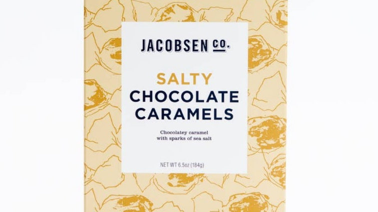 Salty Chocolate Caramels by Jacobsen Salt Co.