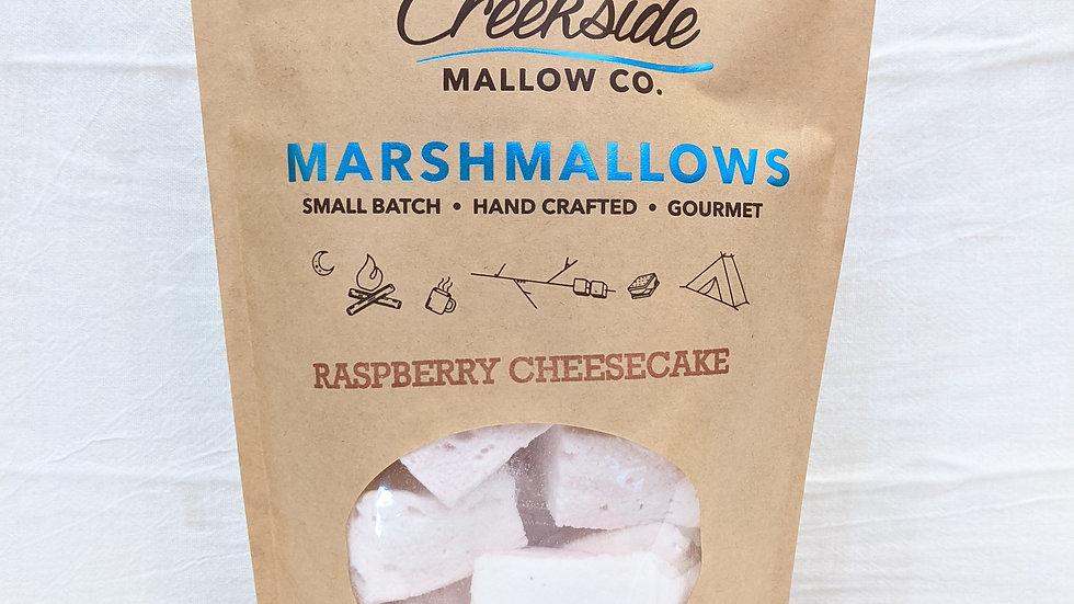 Creekside Gourmet Mallows | Raspberry Cheesecake