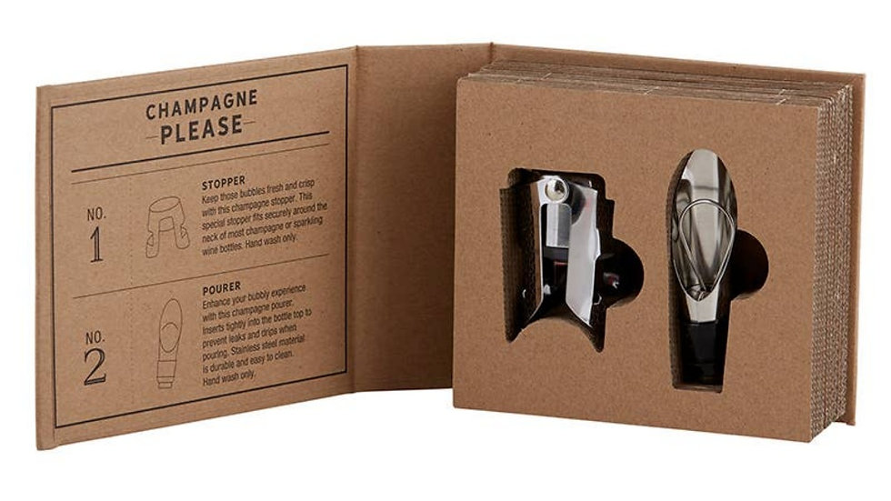 Champagne Tools Gift Book