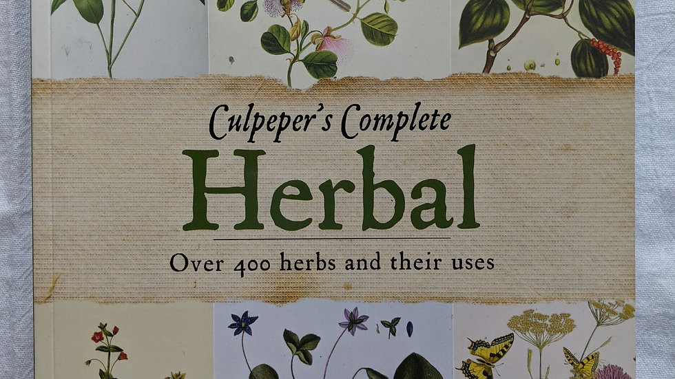 Books | Culpeper's Complete Herbal - Over 400 Herbs and Their Uses