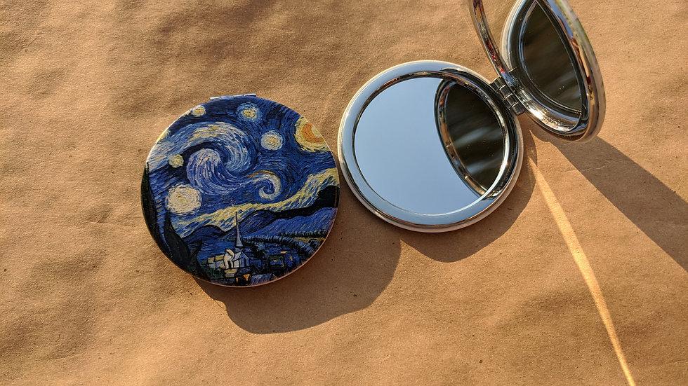 Mirror Compact   Van Gogh • Starry Night