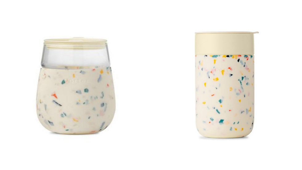 W&P Terrazzo Glass Set