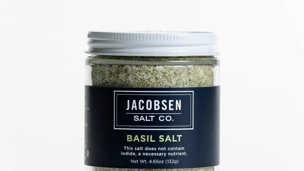 Infused Basil Salt by Jacobsen Salt Co.